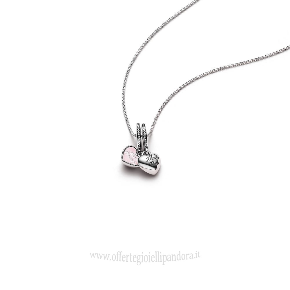 Scontati Pandora Best Friends Pendant And Necklace Rivenditori