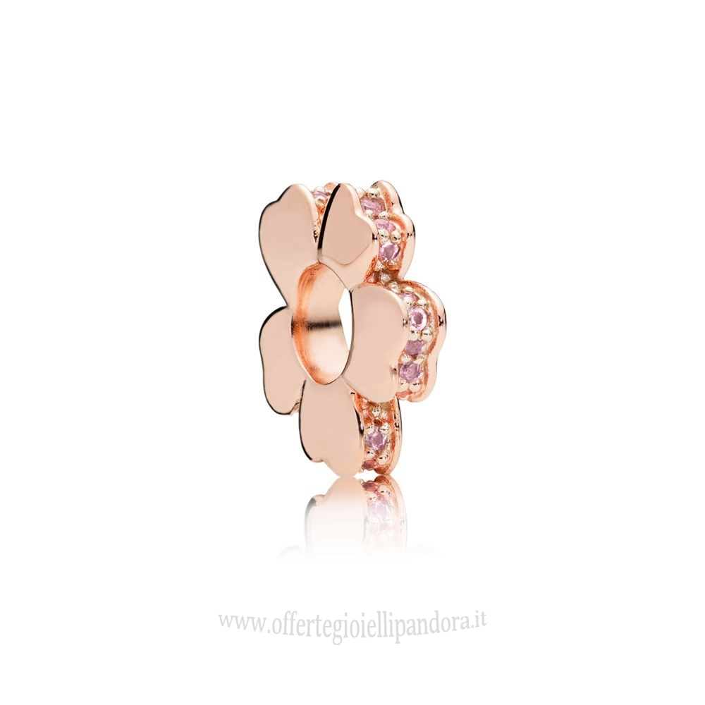 Scontati Pandora Pandora 35.00 Rose Wildflower Prato Spacer Fascino Rivenditori