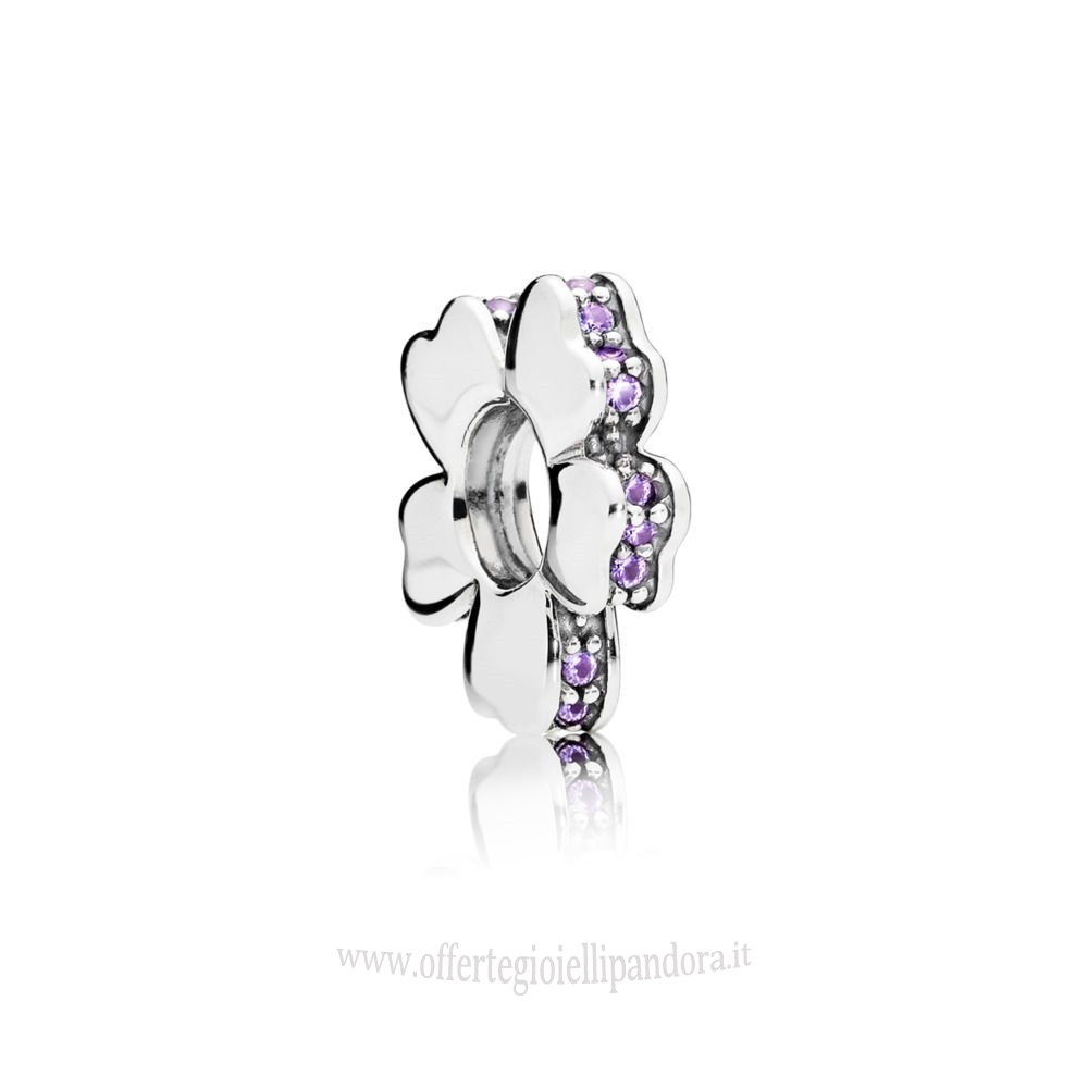 Scontati Pandora Purple 33.00 Wildflower Prato Spacer Fascino Rivenditori